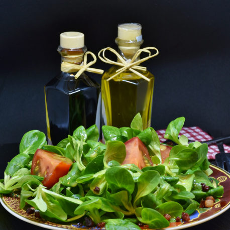 flavorful oils and vinegar